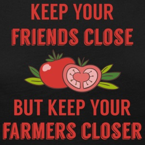 Farmer / Farmer / Farmer: Keep your friends close - Women's Premium Longsleeve Shirt