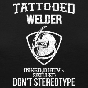 TATTOOED WELDER - Women's Premium Longsleeve Shirt