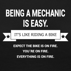 BEING A MECHANIC - Women's Premium Longsleeve Shirt