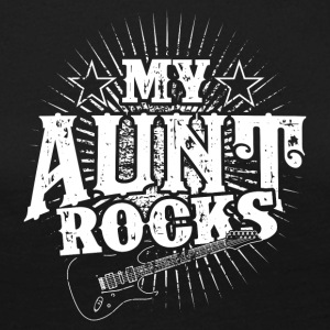 My aunt is rocking! Aunt! Birth - gift - Women's Premium Longsleeve Shirt