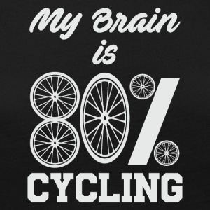 MY BRAIN 80% CYCLING - Women's Premium Longsleeve Shirt