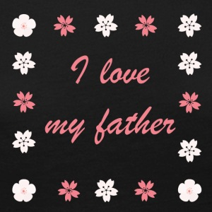 I love my father - Frauen Premium Langarmshirt