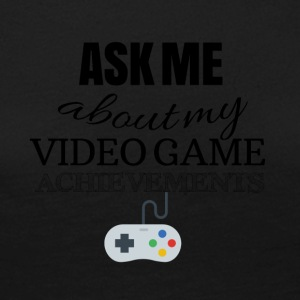Ask me about my video game achievements - Women's Premium Longsleeve Shirt