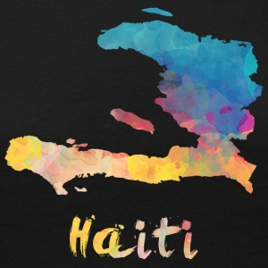 Haitian Watercolor Country - Frauen Premium Langarmshirt