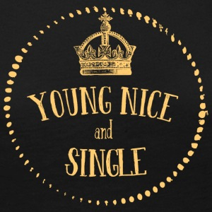 Young Nice og SINGLE - Premium langermet T-skjorte for kvinner