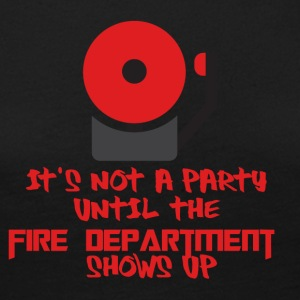 Fire Department: It's not a party until the fire - Women's Premium Longsleeve Shirt