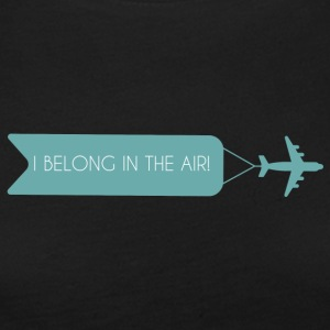 Pilot: I Belong In The Air. - Women's Premium Longsleeve Shirt