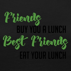 Best Friends: Friends buy you a lunch. Best ... - Women's Premium Longsleeve Shirt