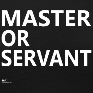 Master or Servant white - Women's Premium Longsleeve Shirt