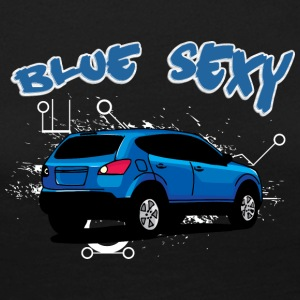 Blue sexy car - Women's Premium Longsleeve Shirt