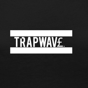 TrapWav£ All White Design - Women's Premium Longsleeve Shirt