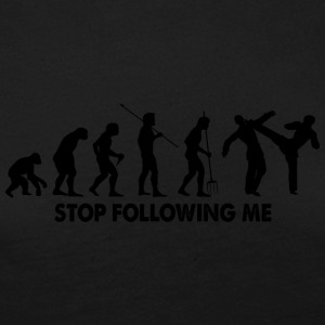 Evolution Stop Following Me - Women's Premium Longsleeve Shirt