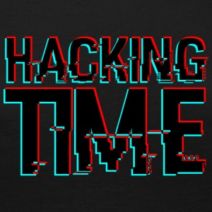 HACKING TIME HACKER - Women's Premium Longsleeve Shirt