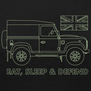 Eat, Sleep & Defend - Maglietta Premium a manica lunga da donna