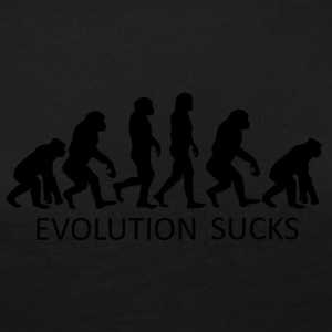 ++ ++ Evolution Sucks - Dame premium T-shirt med lange ærmer