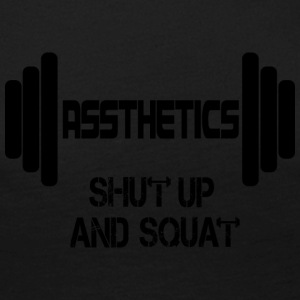 Assthetics - Shut up and Squat - Frauen Premium Langarmshirt