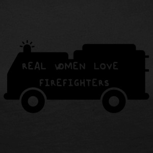 Fire Department: Real Women Love Firefighters - Women's Premium Longsleeve Shirt