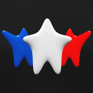 Stars in blue, white and red - Women's Premium Longsleeve Shirt