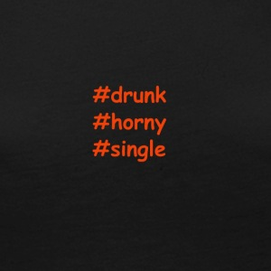 drunk-horny-single - Women's Premium Longsleeve Shirt