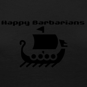Happy Barbarians - Viking Ship Logo - Women's Premium Longsleeve Shirt