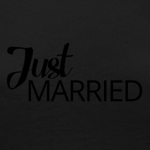 Mariage / Mariage: Just Married - T-shirt manches longues Premium Femme