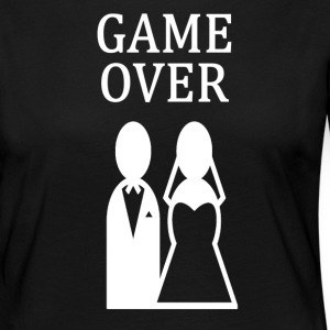 ++ ++ GAME OVER - Långärmad premium-T-shirt dam