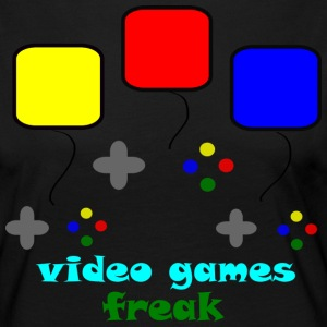 Video giochi Freak - Maglietta Premium a manica lunga da donna