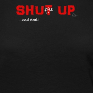 Shuffle up and deal! Poker T-shirt - Vrouwen Premium shirt met lange mouwen