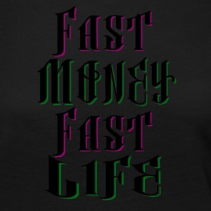 Fast Money Fast Life - Women's Premium Longsleeve Shirt