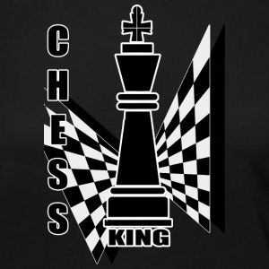 Chess King - Frauen Premium Langarmshirt