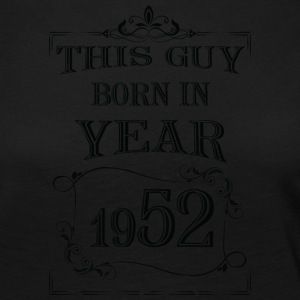 this guy born in year 1952 black - Women's Premium Longsleeve Shirt