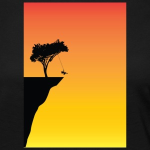lonely tree - Frauen Premium Langarmshirt