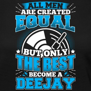 DJ ALL MEN ARE CREATED EQUAL - DEEJAY - Women's Premium Longsleeve Shirt