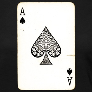Games Card Ace Of Spades - Women's Premium Longsleeve Shirt