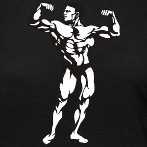 Oldschool Bodybuilding GOLIATH WEAR - Långärmad premium-T-shirt dam