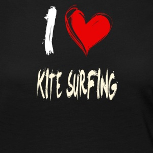 I love kite surfing - Women's Premium Longsleeve Shirt