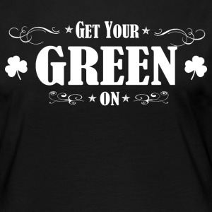 ST PATRICK'S DAY IRISH GREEN ON - Women's Premium Longsleeve Shirt