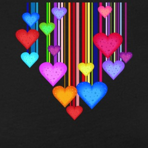colorful hearts - Women's Premium Longsleeve Shirt