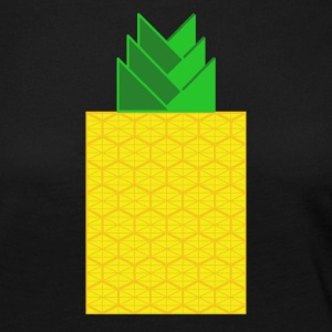 DIGITAL FRUITS - Digitale ANANAS - Digi Pineapple - Frauen Premium Langarmshirt