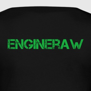 Engineraw - Dame premium T-shirt med lange ærmer