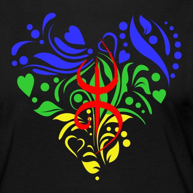 Amazigh berbère Coeur