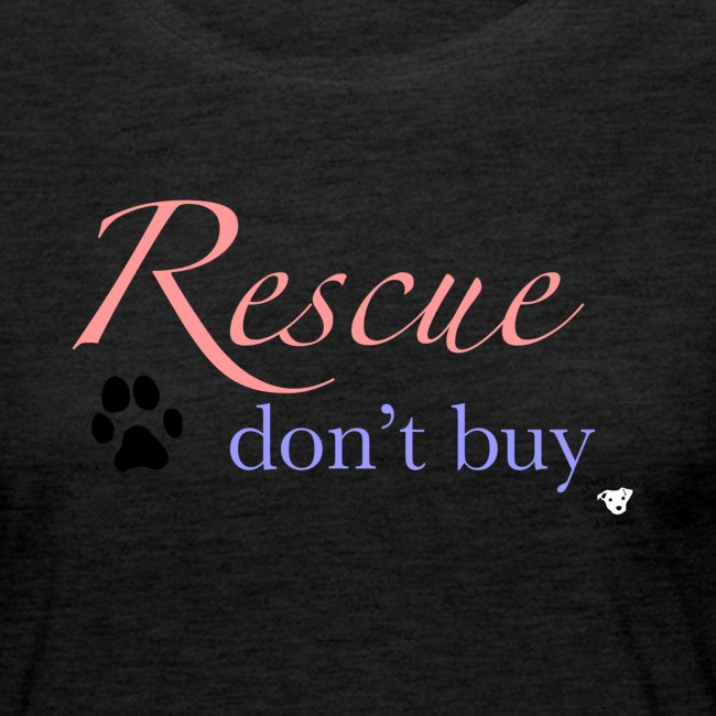 Rescue don't buy