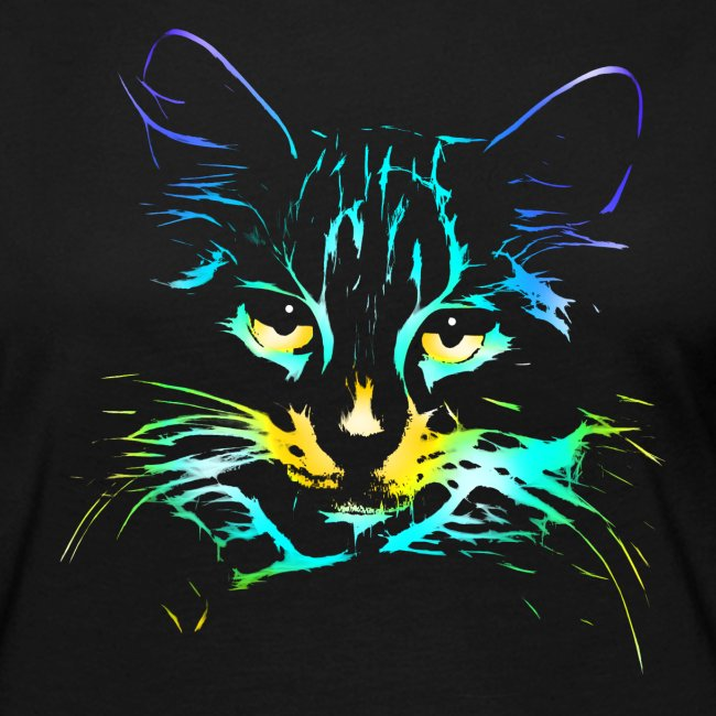 Vorschau: color kitty - Frauen Premium Langarmshirt