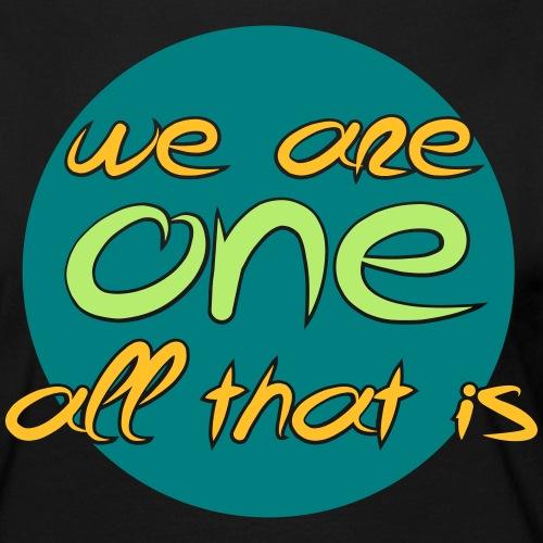 We are all ONE - Dame premium T-shirt med lange ærmer