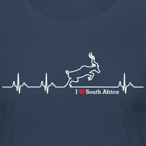 I love South Africa - Frauen Premium Langarmshirt