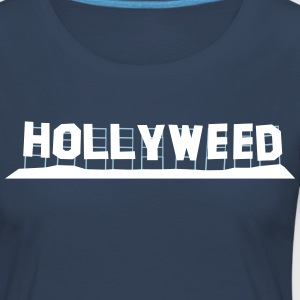 Hollyweed - Premium langermet T-skjorte for kvinner