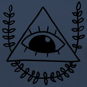 All Seeing Eye - lostinnox - Premium langermet T-skjorte for kvinner