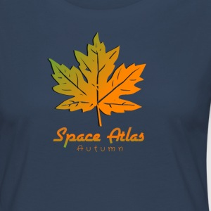 Space Atlas T-Shirt Autumn - Women's Premium Longsleeve Shirt