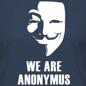 anonymus we are mask demonstration white revolutio - Women's Premium Longsleeve Shirt