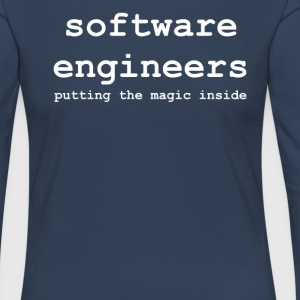 software_engineers - T-shirt manches longues Premium Femme